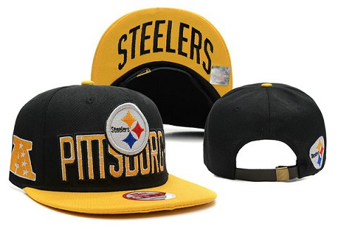 Pittsburgh Steelers NFL Snapback Hat XDF137